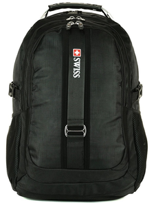 Рюкзак SWISSWIN 7227 Black / Чёрный