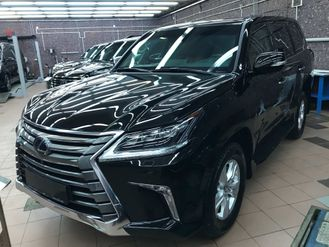 New armored Lexus LX570, B6, 2017 YP