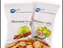 Яблочные чипсы Frochi c кокосом и медом