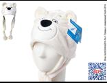 Купить шапку-маску «Белый Мишка» Олимпийских игр в Сочи-2014