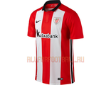 Атлетик Бильбао домашняя футболка 2015-2016 Athletic Bilbao FC Home Kit 2015-2016