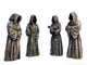 Monk statues (PAINTED)
