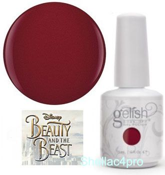 Gelish Harmony, цвет № 1110247 The Last Petal - Beauty and the beast Collection 2017