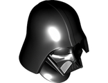 Large Figure Head Modified SW with Ball Joint Socket Darth Vader Pattern, Black (22372pb01 / 6124315)