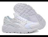 Кроссовки Nike Huarache белые