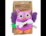 Детские погремушки Zoocchini Rattle Сова фиолетовая