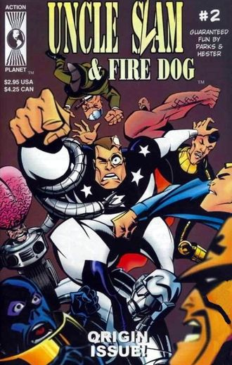 Uncle Slam & Fire Dog №2