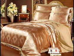 Артикул H002. Элитное постельное белье на 100% хлопковой основе с использованием шелковой нити,декорировано вышивкой