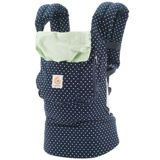 "Эрго-рюкзак Ergo Baby Original Collection ""Indigo Mint Dots"""