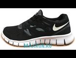 Nike Free Run мужские черно-белые (41-44)