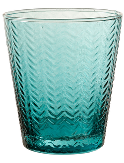 Стакан арт 32394 MYCENES BLUE 25CL GLASS
