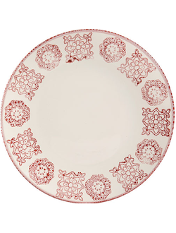 Тарелка PLATE FARO RED D26.5CM EARTHENWARE арт.30822