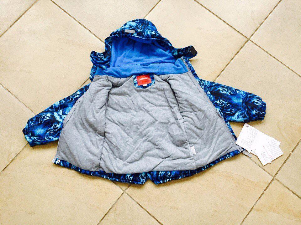 Мембранная весенняя куртка для мальчика