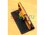 Чехол-книжка iMUCA JEANS для Sony Xperia M4 Aqua / M4 Aqua Dual черный