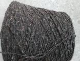 WHISTLE  ( Filpucci) , 100% шерсть, 350 м/100 гр, серо коричневый с разноцветными крапинками