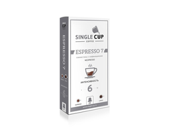Капсулы SINGLE CUP ESPRESSO7 6