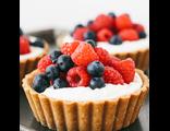 Песочно-миндальные тарты / Almond shortcrust tarts