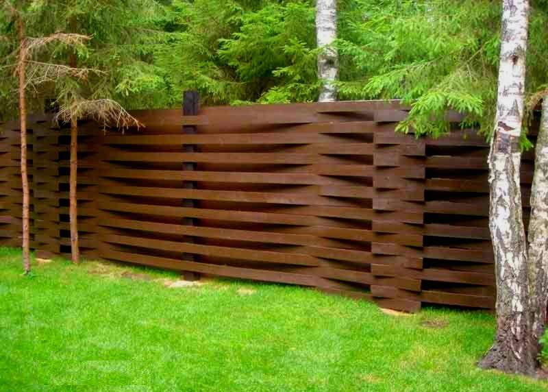 Как красиво сделать забор
