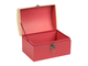 Набор коробок 200460 NESTED CHEST X3 SECRET RED H17/H15/H13CM CARDBOARD