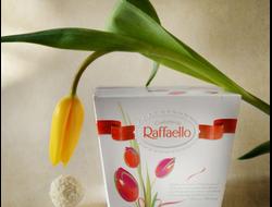 Конфеты Раффаэлло с живой бабочкой