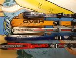 Горные лыжи с креплениями прошлых сезонов бу оптом.