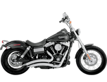26071 Vance&Hines BIG RADIUS 2-INTO-2 CHROME