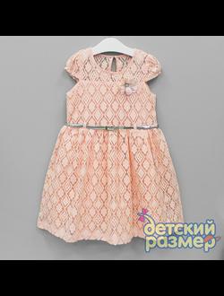 Платье (геометричный гипюр) | арт.54117