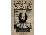 Постер Maxi Pyramid: Harry Potter (Wanted Sirius Black)