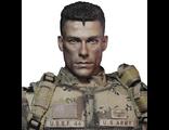 Универсальный солдат - коллекционная фигурка 1/6 Luc D?verbaux Universal Soldier (DMS002) - DamToys x Blitzway