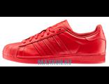 Кроссовки Adidas Superstar 2 красные
