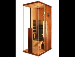одноместная инфракрасная сауна, компактная инфракрасная сауна в саратове, мини сауна дома