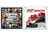 GTA V + Need for Speed Most Wanted (цифр версия PS3) RUS