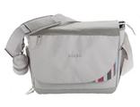 Универсальная сумка для мамы на коляску Beaba Madrid Gris raye