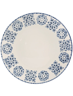Тарелка PLATE FARO BLUE D26.5CM EARTHENWARE арт.30818