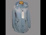 Женская весенняя куртка голубая 002-092