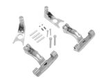 Drag Specialties крепление платформ пассажира PASSENGER FLOORBOARD MOUNT KIT CHROME SOFTAIL 00-17
