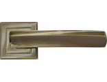 Дверные ручки RUCETTI RAP 11-S AB Цвет Античная бронза