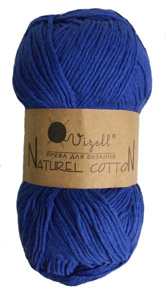 Vizell Naturel cotton синий