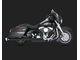 46755 Vance&Hines  MONSTER OVALS BLACK - CHROME