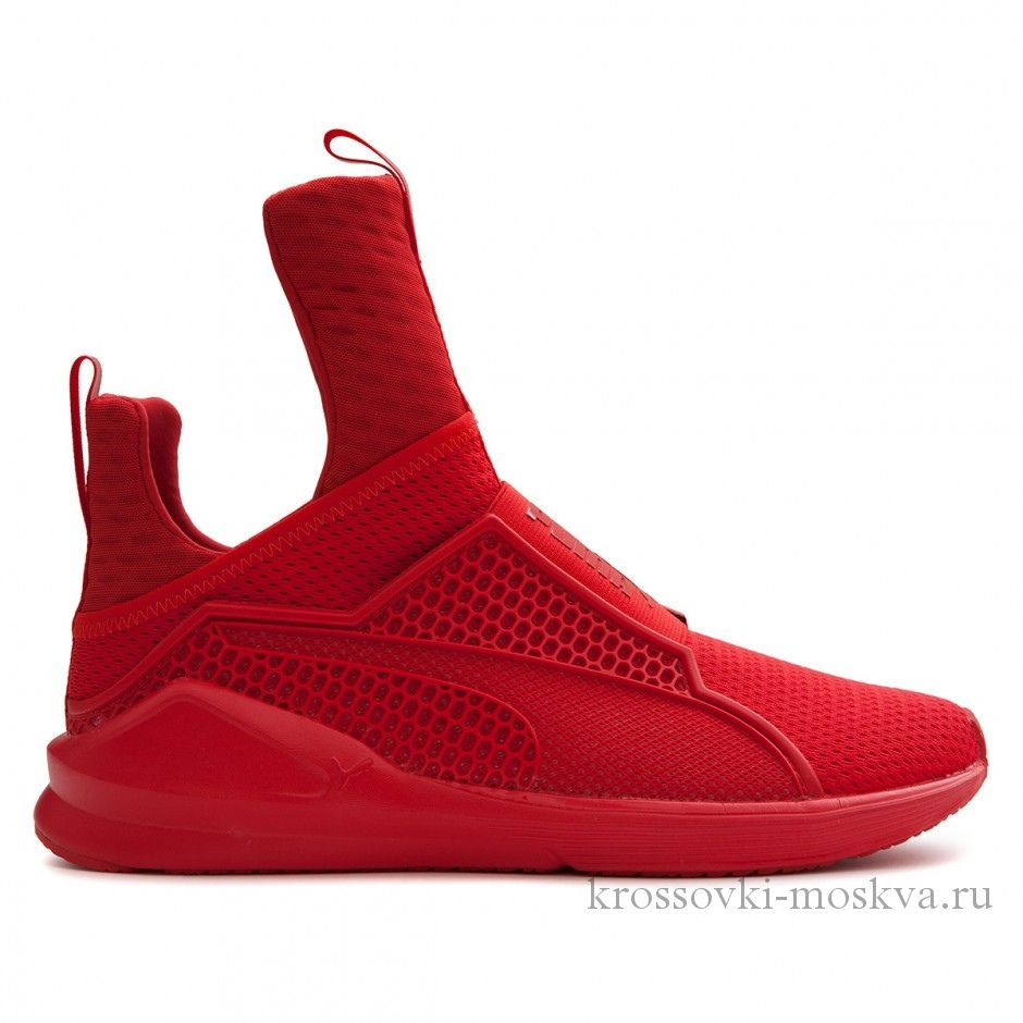 Puma x Rihanna Fenty Trainer High красные (артикул-2)