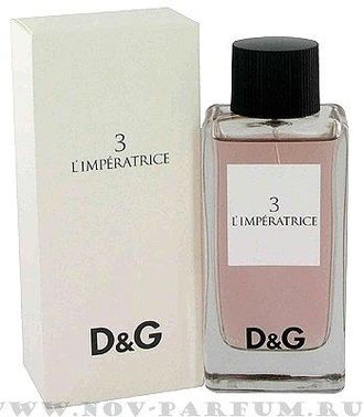"Dolce and Gabbana ""3 L'Imperatrice"", 100ml"