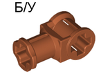 ! Б/У - Technic, Axle Connector with Axle Hole, Dark Orange (32039 / 4200926) - Б/У