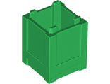 Container, Box 2 x 2 x 2 - Top Opening, Green (61780 / 4548102)