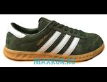 Кеды Adidas Gamburg зеленые