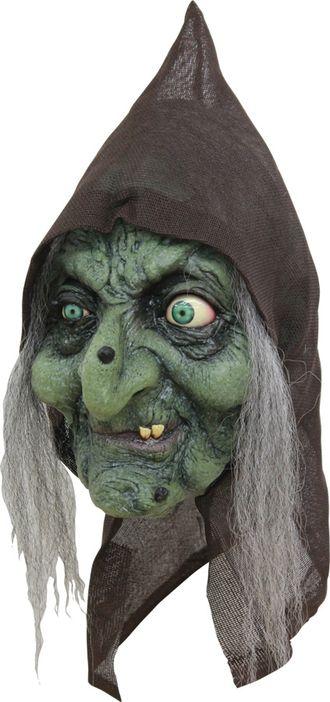 старая ведьма, баба яга, ужасная, маска, латексная, силиконовая, резиновая, бабка, старуха, ужас