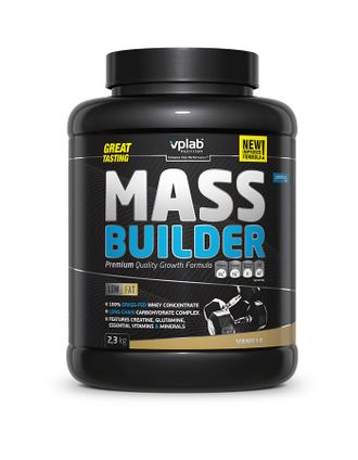 (VPLab) Mass Builder - (2,3 кг) - (шоколад)