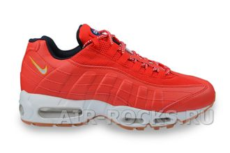 NIKE AIR MAX 95 PRM Red Men's (Euro 40-45) AM95-005