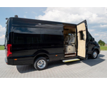 Luxury class discreetly armored VIP mobile office, based on Mercedes-Benz Sprinter 319/519 CDI, RWD/4WD versions in CEN B6, 2021-2022YP.