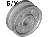 ! Б/У - Wheel 18mm D. x  8mm with Fake Bolts and Deep Spokes with Inner Ring, Light Bluish Gray (13971 / 6044729) - Б/У
