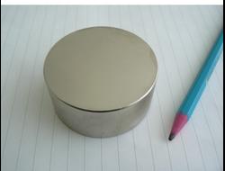 Неодимовый магнит дискоoбразный D50x20
